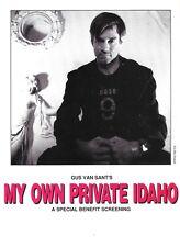 Gus Van Sant My Own Private Idaho post card benefit Portland indie