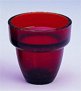 Orthodox Vigil Oil Lamp Glass Cup Replacement 8cm Ersatzglas Ikonenampel Ikone