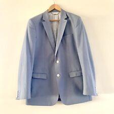 Calibre Men's Light Blue Cotton Blazer Jacket Size 42 Large