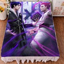 Hunter X Hunter Hisoka/Kulolo HD Printing Bedsheet Micro Fiber Blanket#DQ-7