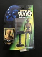 EV-9D9 STAR WARS Power of the Force Coll. 2 Hasbro Kenner 1997 green card