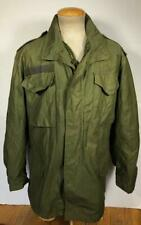 VINTAGE 80'S M-65 US ARMY FIELD JACKET LINER SZ MEDIUM LONG GOOD USED CONDITION
