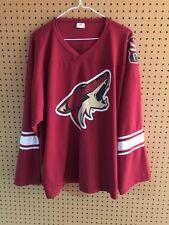 Phoenix Coyotes Jersey Adult Medium SGA NHL