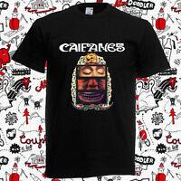 New Caifanes Band - El Silencio Album Cover Logo Men's Black T-Shirt Size S-3XL