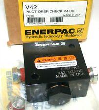 Enerpac V42, Pilot Operated Check Valve, 3/8 in NPTF Oil Port NIB
