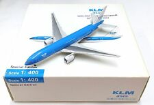 Herpa / Hogan Wings 1:400 KLM asia B777-200ER - Special Edition - Airplane Model