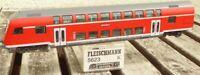 Fleischmann 5623 Doppelstock-Steuerwagen Görlitz m.Innenbeleuchtung DB AG für DC