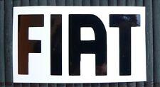 adesivo logo Fiat auto car vinile vinyl sticker decal 500 Punto Bravo Brava