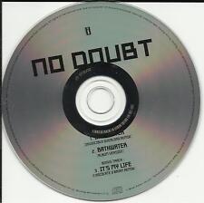 Gwen Stefani NO DOUBT Bathwater /It's MIX UK PROMO CD