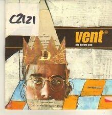 (CP3) Vent, Life Before You - 1996 DJ CD