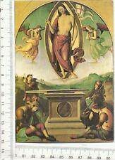 CARTOLINA PERUGINO CRISTO RISORTO VATICANO F9230