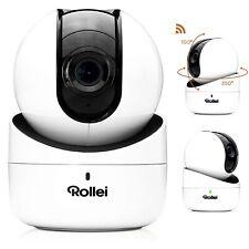 IP Überwachungskamera Rollei SafetyCam 100 Full HD Nachtsicht WLAN Camera Webcam