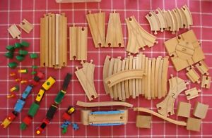 Genuine BRIO Train, Track, Accessories - Starter Set - 93 pieces - Vintage Lot