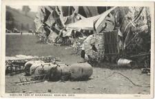 Vintage/Antique Post Card...GASOLINE TANK of SHENANDOAH,  near Ava Ohio...c1915