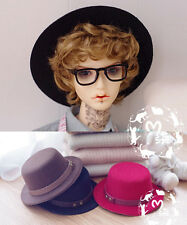 New Brown/Red/Black Gentleman Round Cap/Accessory For 1/3 BJD UNCLE SD LUTS DOC