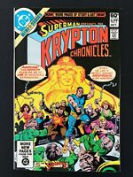 KRYPTON CHRONICLES #2 DC COMICS 1981 VF/NM