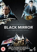 BLACK MIRROR COMPLETE SERIES 1 DVD First 1st Season One UK Brand New Sealed R2