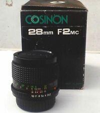 Cosinon 2,0/28mm mit Pentax-K-Anschluss, Super lichtstarkes Weitwinkel-Objektiv