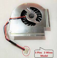 NEW CPU Cooling Fan For IBM Lenovo Thinkpad T61 T61p 42W2463  5Pin 3Wire Model