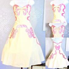 Vintage Retro 90s does 50s Betsey Johnson rare prom evening dress