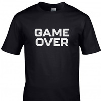 Game Over Kids Gamer T-Shirt Gaming Tee Top
