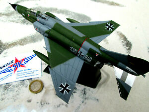F - 4 Phantom Nato Bundeswehr Immelmann Fertigmodell  Aircraft 1:100  / Yakair