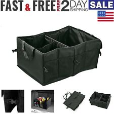 Car Trunk Organizer Foldable Storage Box Collapsible Auto Cargo Bag Portable SUV