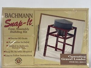 Bachmann Snap It Operating Gravel Loader Building Model Kit HO 45511
