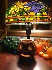 Antique 1930s Pulp Paper Mache Jack O Lantern JOL Pumpkin Halloween Liner