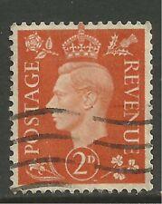 GB 1938 KGV1 2d Orange Definitive SG 465 ( T167 )