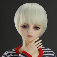 "Dollmore 1/3 BJD dollfie SD wig  (8-9)"" SG Short Cut Wig (L.Blond) SD size"