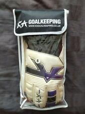KA  All-Weather Goalkeeping Gloves - Roll Finger - Adult Size 8