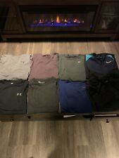 Mens Under Armour And Nike Long Sleeve, 3/4 Sleeve, And Windbreaker All Size Med