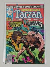 Marvel Comics Tarzan Lord Of The Jungle #12 Roy Thomas John Buscema 1978