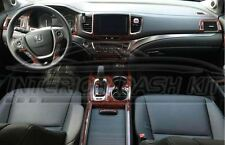 2016 2017 2018 HONDA PILOT EX EX-L SPORT TOURING INTERIOR WOOD DASH TRIM KIT SET