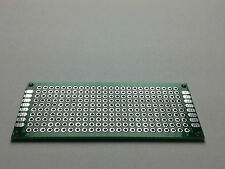 Perfboard 70x30 mm | Pitch 2.54 mm | Double Sided | FR-4
