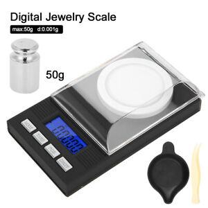 Digital Milligramm Waage Diamantwaage Karatwaage Schmuckwaage Mit LED Anzeige DE