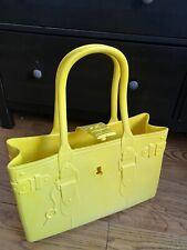 Robert Verdi The Great Bag Co. in Citrine Yellow Shopping Bag Tote