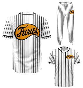 The Baseball Furies Warriors cult movie jersey shirt team + joggers badass gang