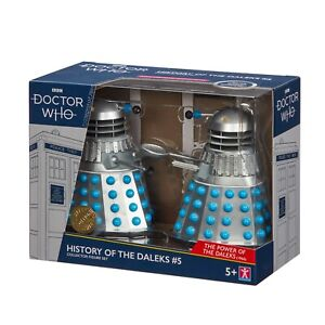 Doctor Who History of the Daleks 5 Collector Figure Set Power of the Daleks B&M