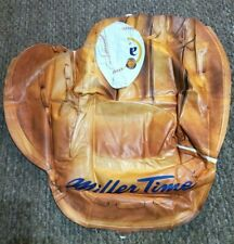 Bar: Inflatable, Miller Lite baseball glove mitt, was New In Sealed Package