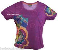 Laurel Burch Carlotta's Cat T Shirt Short Sleeve Polyester New 2XL XXL