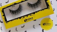 Eldora False Eyelashes M112 Multi-Layered Human Hair Strip Lashes