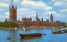 Alte Postkarte - London - Houses of Parliament