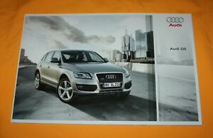 Audi Q5 Quattro 2008 Prospekt Brochure Depliant Catalog Prospetto Folder