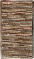 Capel Rugs Habitat Chenille Polyester Braided Rectangle Rug Sundried Red 510