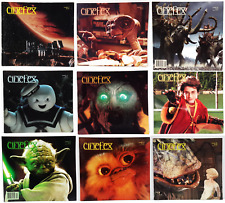 1980s-1990s Cinefex SFX Magazine Collection- Your Choice of 80+ Issues