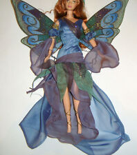 Barbie Fashion Fairy Gown Costume W/Wings For Barbie Dolls hf11