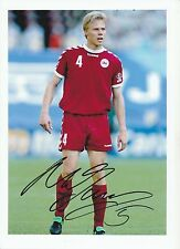 MARTIN LAURSEN DENMARK INT 2000-2008 ORIGINAL HAND SIGNED LARGE PHOTOGRAPH