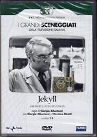 2 Dvd Sceneggiati Rai JEKYLL di R.Louis Stevenson G.Albertazzi completa 1969